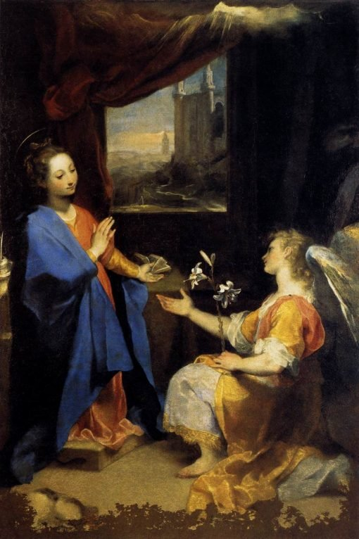 Annunciation | Federico Barocci | Oil Painting