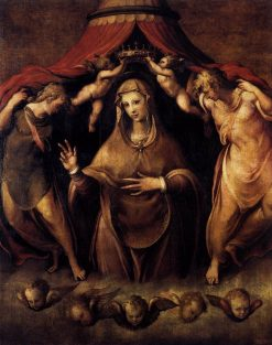 Coronation of the Virgin | Francesco Salviati | Oil Painting