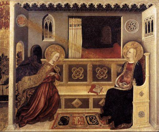 Annunciation   Gentile da Fabriano   Oil Painting