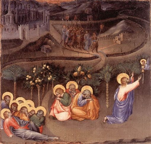 Christ in the Garden of Gethsemane | Giovanni di Paolo | Oil Painting