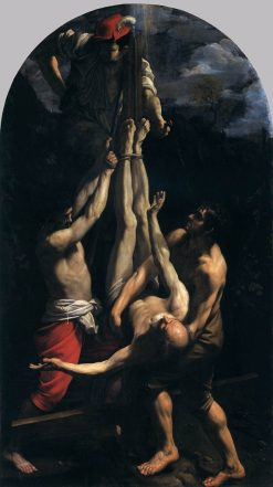Crucifixion of Saint Peter | Guido Reni | Oil Painting