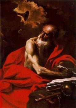 Saint Jerome   Pier Francesco Mola   Oil Painting