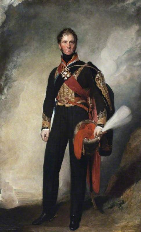 Field Marshal Sir Henry William Paget | Thomas Lawrence | Oil Painting