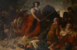 The Maid of Saragossa | Benjamin Robert Haydon | Oil Painting