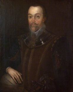 Sir Francis Drake (1540-1596) | Marcus Gheeraerts the Younger | Oil Painting