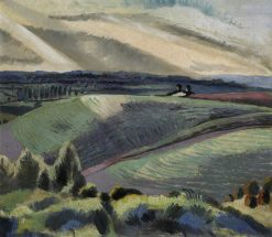 Cotswold Hills | Paul Nash | Oil Painting