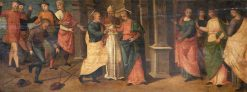 Marriage of the Virgin | Raffaellino del Garbo | Oil Painting