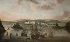 Plymouth in 1666 | Willem van de Velde the Younger | Oil Painting