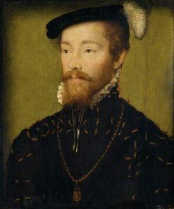 King James V KIng of Scotland (1512-1542) | Claude Corneille de Lyon | Oil Painting