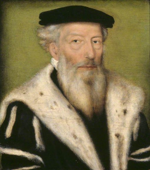 Portrait of an Unknown Old Bearded Man | Claude Corneille de Lyon | Oil Painting