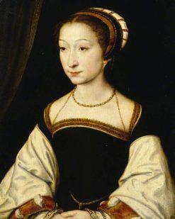 Portrait of an Unknown Young Lady   Claude Corneille de Lyon   Oil Painting