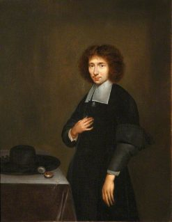 Portrait of an Unknown Man in Black
