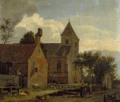 The Church at Maarsen | Jan van der Heyden | Oil Painting