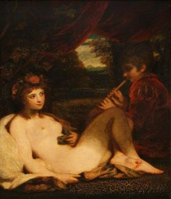 Nymph and Piping Boy | Sir Joshua Reynolds | Oil Painting