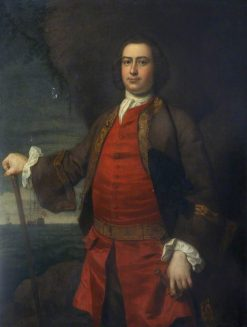 Captain Hugh Bonfoy | Sir Joshua Reynolds | Oil Painting
