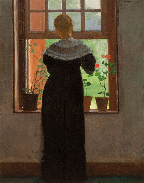 An Open Window | Winslow Homer | Oil Painting