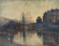 A Canal Scene | Bernard Sickert | Oil Painting
