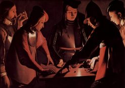 The Dice-Players | Georges de La Tour | Oil Painting