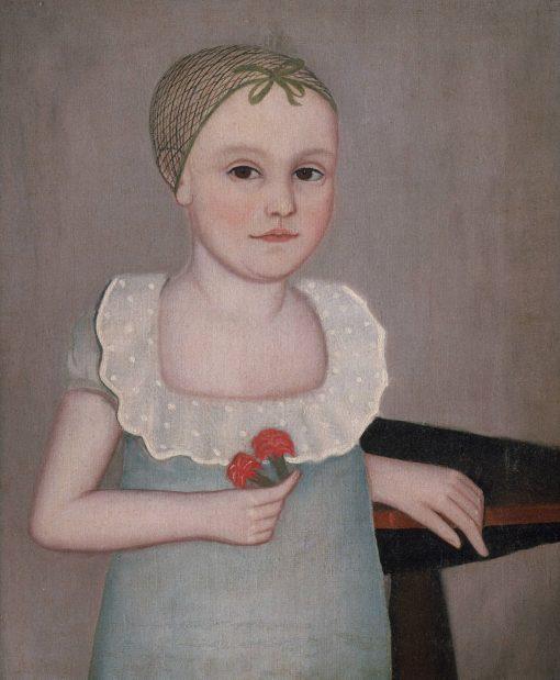 Henrietta Dorr | Ammi Phillips | Oil Painting