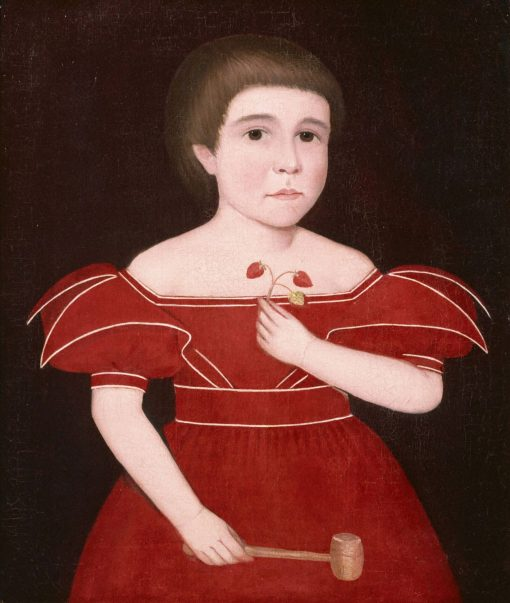 Boy in Red   Ammi Phillips   Oil Painting