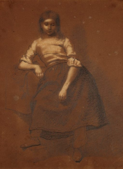 Dutch Peasant Girl | Eastman Johnson | Oil Painting