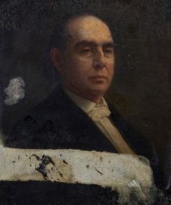 Rev. Lyman Hotchkiss Atwater (1813-1883) | Eastman Johnson | Oil Painting