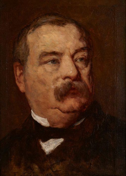 Grover Cleveland | Eastman Johnson | Oil Painting