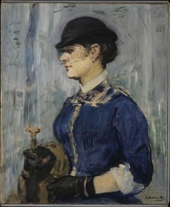 Young Woman in a Round Hat | Edouard Manet | Oil Painting