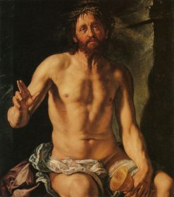 Man of Sorrows with a Chalice | Hendrick Goltzius | Oil Painting