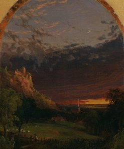 Evening | Jasper Francis Cropsey | Oil Painting