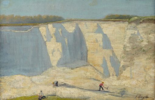 Quarry | Jean Frederic Bazille | Oil Painting