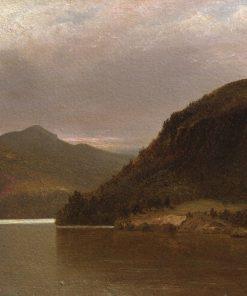 Lake George   John Frederick Kensett   Oil Painting