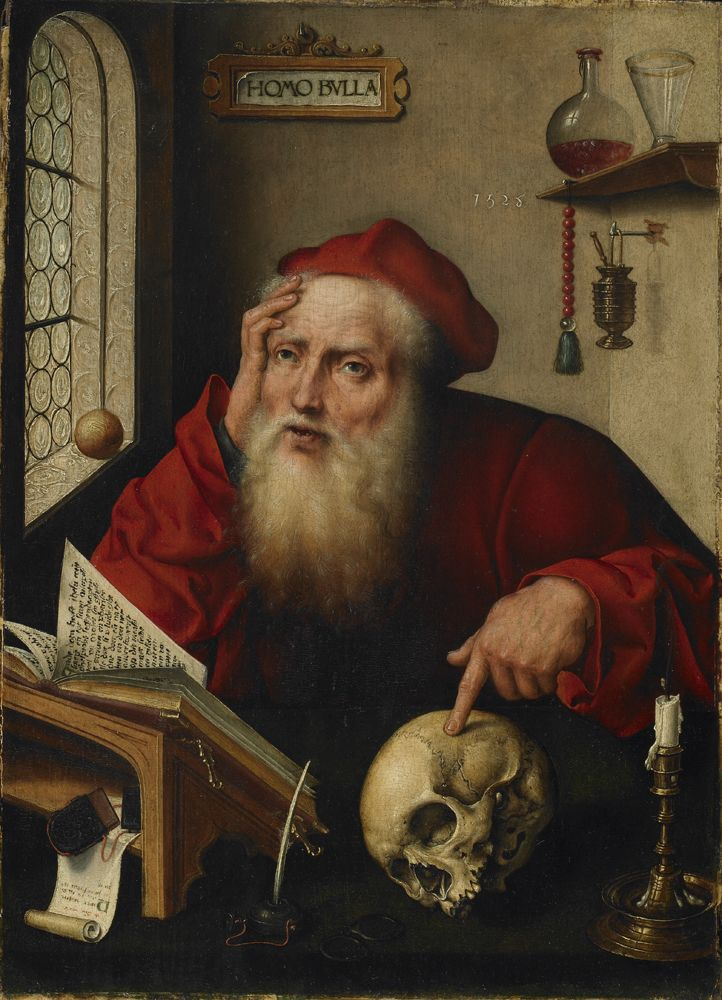 Saint Jerome in His Study | Joos van Cleve | Oil Painting