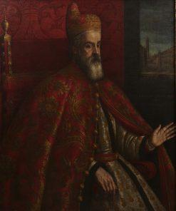 Doge Marino Grimani   Leandro Bassano   Oil Painting