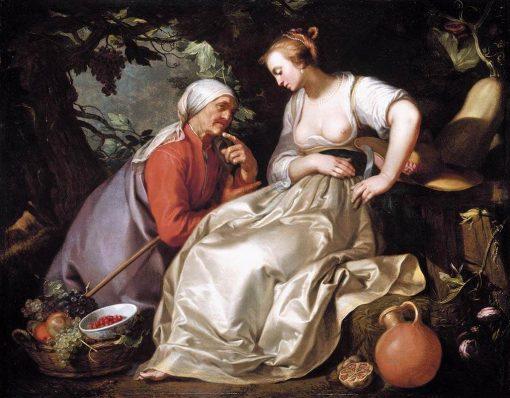 Vertumnus and Pomona | Abraham Bloemaert | Oil Painting