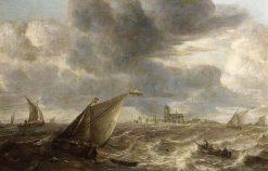 River Landscape | Abraham van Beyeren | Oil Painting