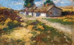 Farmhouse | Adolf FEnyes | Oil Painting