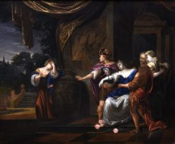 The Death of Cleopatra | Adriaen van der Werff | Oil Painting
