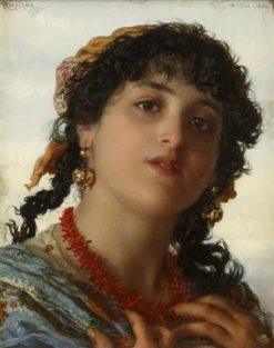 Maiden | Adriano Bonifazi | Oil Painting