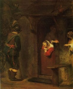 The Peeing Soldier | Aert de Gelder | Oil Painting