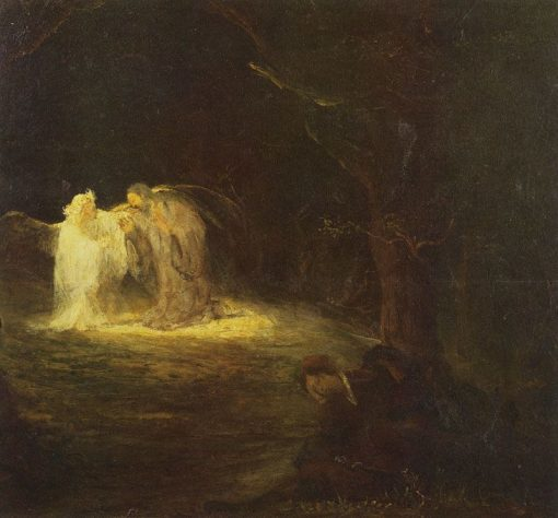Christ and the Angel | Aert de Gelder | Oil Painting