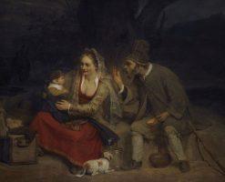 The Rest on the Flight into Egypt | Aert de Gelder | Oil Painting