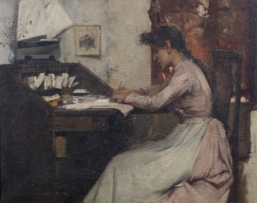 The Letter | Albert Chevallier Tayler | Oil Painting