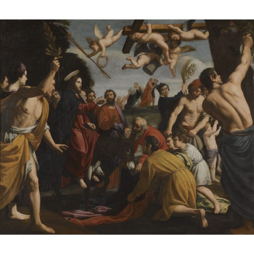 Christ's Entry into Jerusalem   Alessandro Turchi   Oil Painting