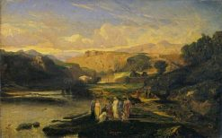 The Finding of Moses | Alexandre Gabriel Decamps | Oil Painting