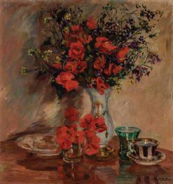 Floral Still Life | Alice B. Chittenden | Oil Painting