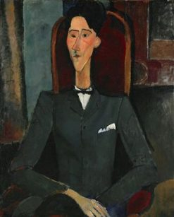 Jean Cocteau | Amedeo Modigliani | Oil Painting