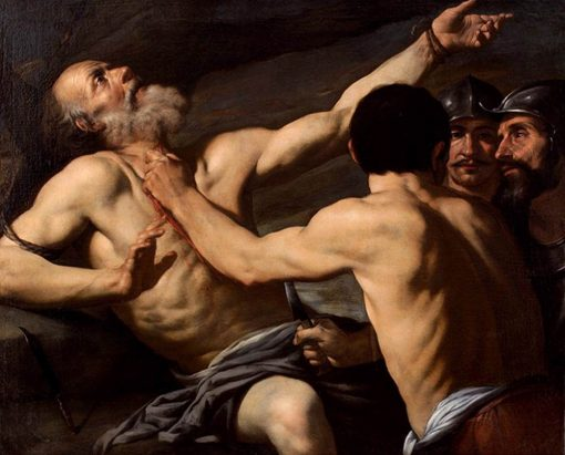 The Martyrdom of Saint Matthew | Andrea Vaccaro | Oil Painting