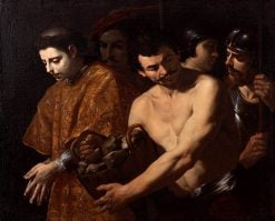 St Stephen Taken to His Martyrdom | Andrea Vaccaro | Oil Painting