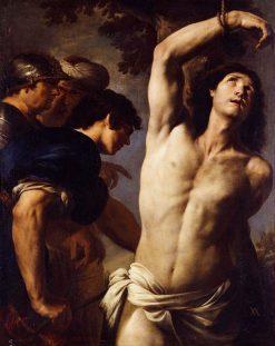 The Martyrdom of Saint Sebastian | Andrea Vaccaro | Oil Painting